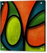 Love - Abstract Acrylic Print