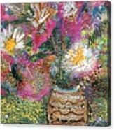 Love And A Daisy On The Side Acrylic Print
