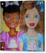 Love And Friendship  Acrylic Print