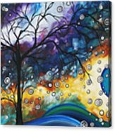 Love And Laughter By Madart Acrylic Print