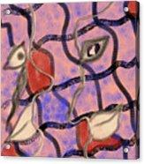 Love Between Dimensions Acrylic Print