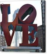 Love Acrylic Print by Brynn Ditsche