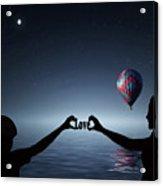 Love - Digital Art Acrylic Print