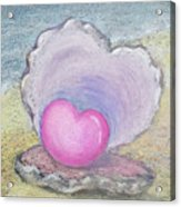 Love Endures All Things Acrylic Print