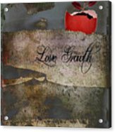 Love Growth - V2t1 Acrylic Print
