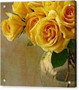 Love In A Vase Acrylic Print