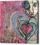 Love In All Things Acrylic Print
