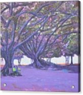 Love In Lal Bagh 4 Acrylic Print