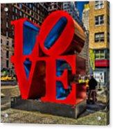 Love In Nyc Acrylic Print