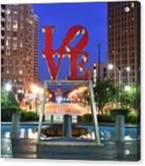 Love In Philly Acrylic Print