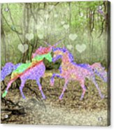 Love In The Magical Forest Acrylic Print
