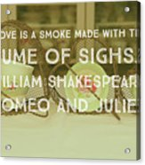 Love Is A Smoke Acrylic Print