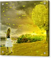Love Is All Around Us And So The Feeling Grows Acrylic Print
