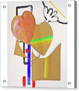 Love Is Blind Acrylic Print
