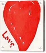 Love Is.... Acrylic Print