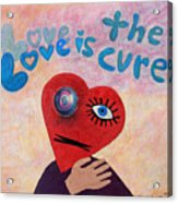 Love Is The Cure Acrylic Print