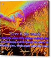 Love Is The Music Acrylic Print