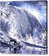 Love Is The Seventh Wave Acrylic Print