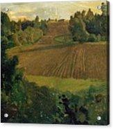 Love Island 1900 Konstantin Andreevich 1869-1939 Somov Acrylic Print