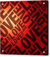 Love Letters Acrylic Print by Michael Tompsett