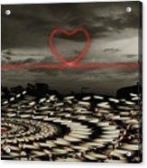 Love Lines Acrylic Print
