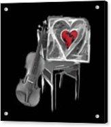Love Melody Acrylic Print
