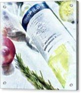 Love My Wine Acrylic Print