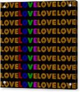 Love Neon 1 Acrylic Print