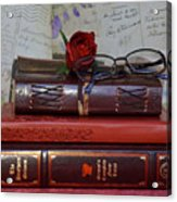 Love Of Books Acrylic Print