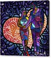 Love On High Notes Acrylic Print