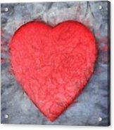 Love Pencil Acrylic Print