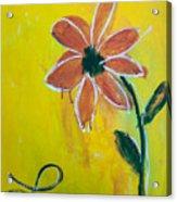 Love Petals Acrylic Print