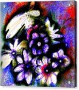 Love Posey Acrylic Print