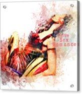 Love Sex Romance Acrylic Print