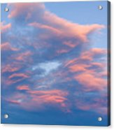 Love Shack Sunset Acrylic Print