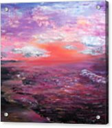 Love Sunsets And Dawns Acrylic Print