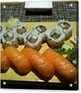 Love Sushi Acrylic Print