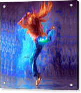 Love To Dance Acrylic Print