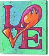 Love Tulips Acrylic Print
