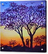 Love Under The Tree Acrylic Print