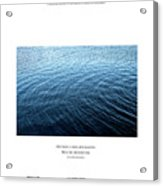 Love What Is Simple Acrylic Print