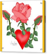 Love Will Grow Acrylic Print