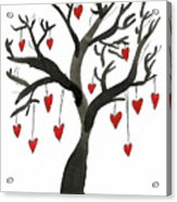 Love Will Grow Acrylic Print by Sarah Benning