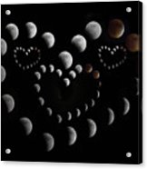 Love You To The Moon And Back Acrylic Print