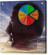 Lovehate Relationship Acrylic Print
