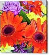 Lovely Bouquet Acrylic Print