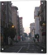 Lovely Downtown ''savannah Acrylic Print