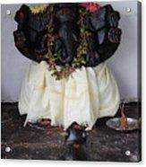 Lovely Ganesha, Valparai Acrylic Print