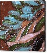 Lovely Hair Tile Acrylic Print