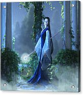 Lovely Is The Night Acrylic Print by Melissa Krauss